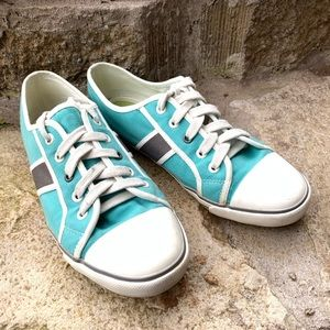 BODEN teal fashion sneakers